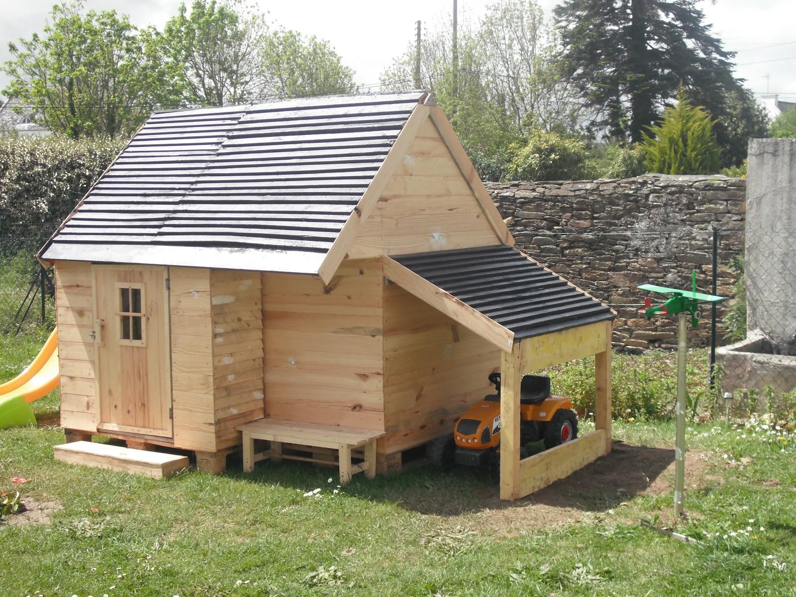 Tuto construire une cabane en palette