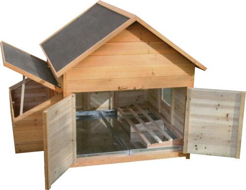 cabane a poule pondeuse jardin. Black Bedroom Furniture Sets. Home Design Ideas