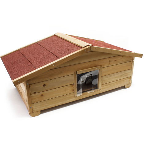 Isoler une cabane a chat
