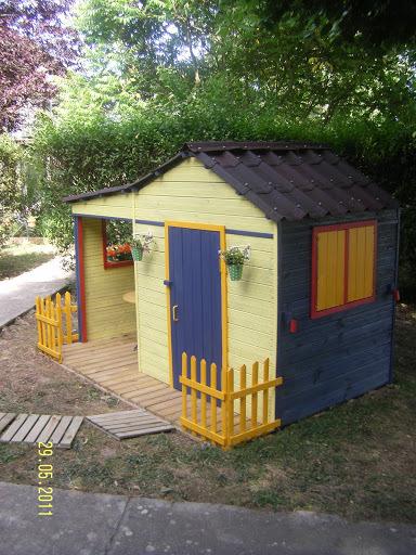 Cabane en bois quelle couleur