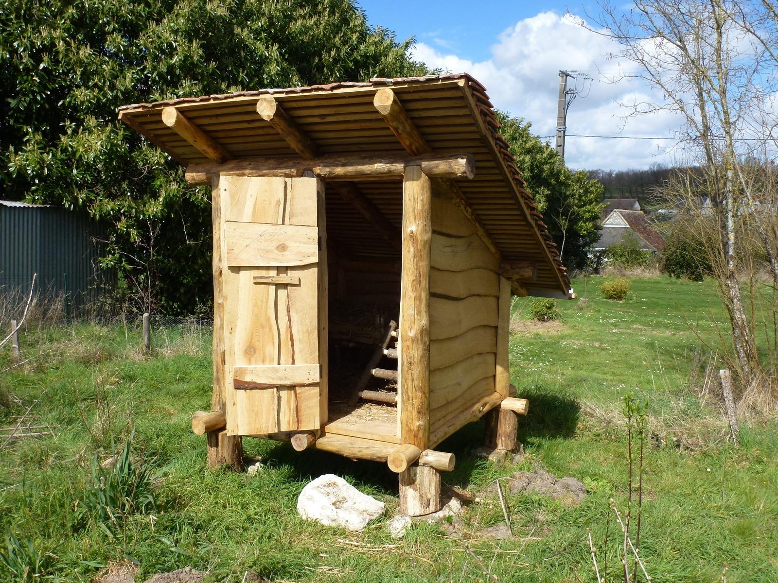 Cabane pour poule