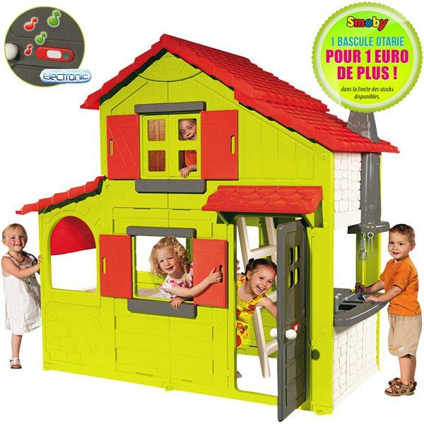 Cabane jouet club - Mailleraye.fr jardin