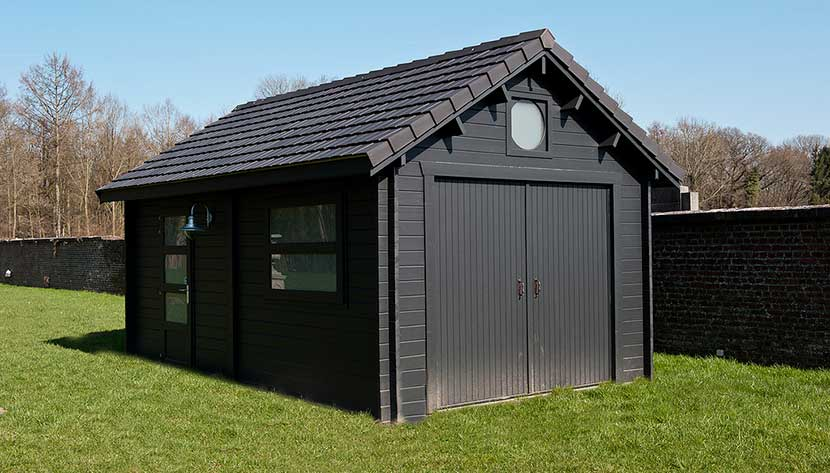 cabane de jardin 20m2 jardin. Black Bedroom Furniture Sets. Home Design Ideas