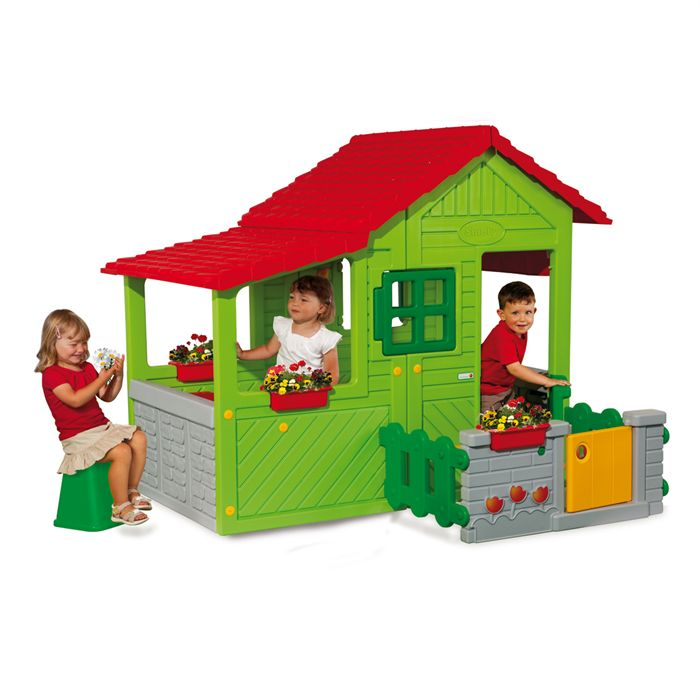 Charmant Cabane Smoby Floralie Occasion