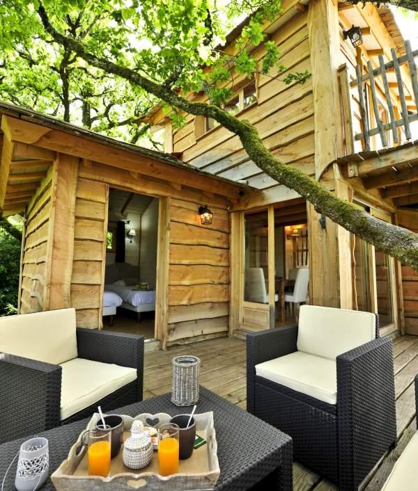Cabane arbre rocamadour