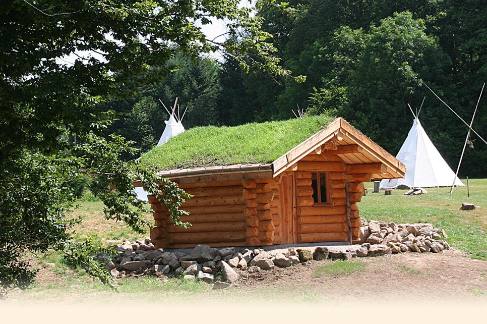 Cabane de jardin vosges