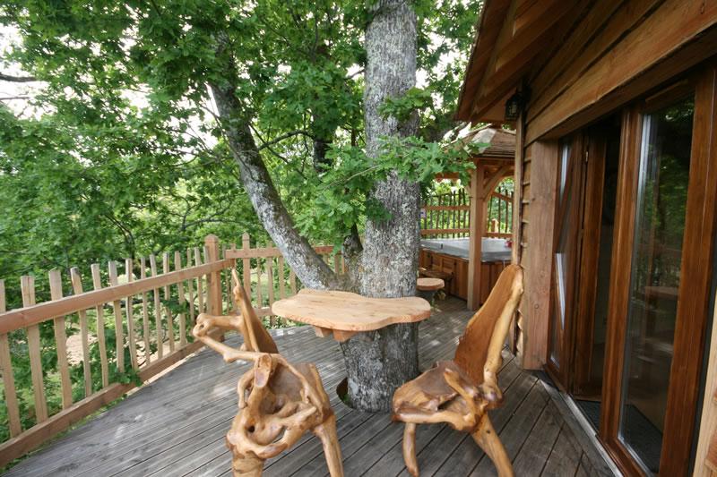 Cabane arbre sud ouest