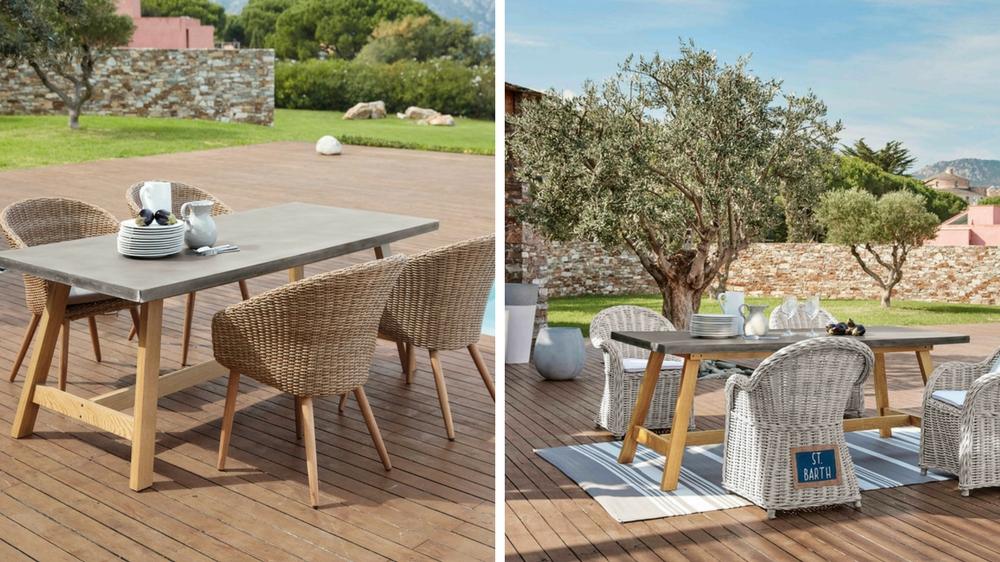 Promotion mobilier de jardin