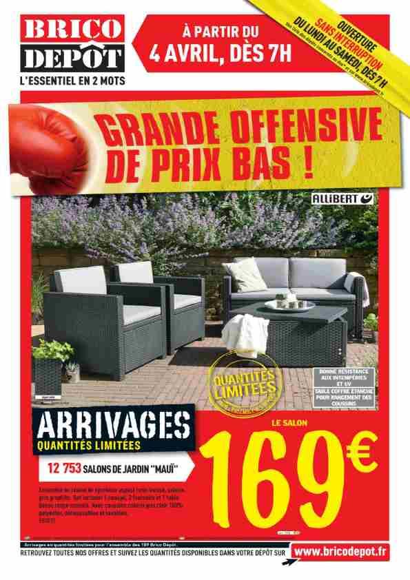 Salon de jardin brico depot 99 euros - Mailleraye.fr jardin