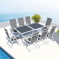 Salon de jardin aluminium de qualité - Mailleraye.fr jardin