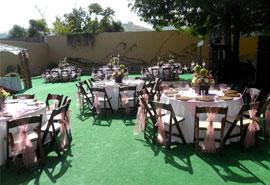 Casa jardin salon de fiestas