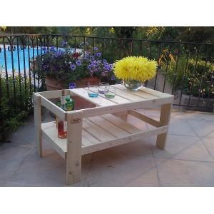 Salon de jardin table basse