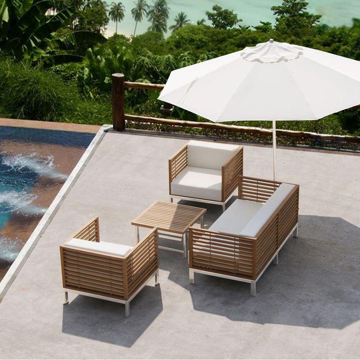 Best Salon De Jardin Bois Avis Contemporary - House Design ...