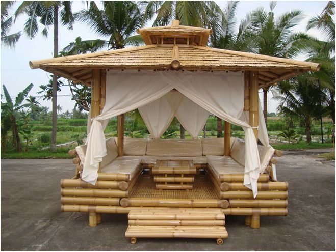 Entretenir mobilier de jardin en bambou