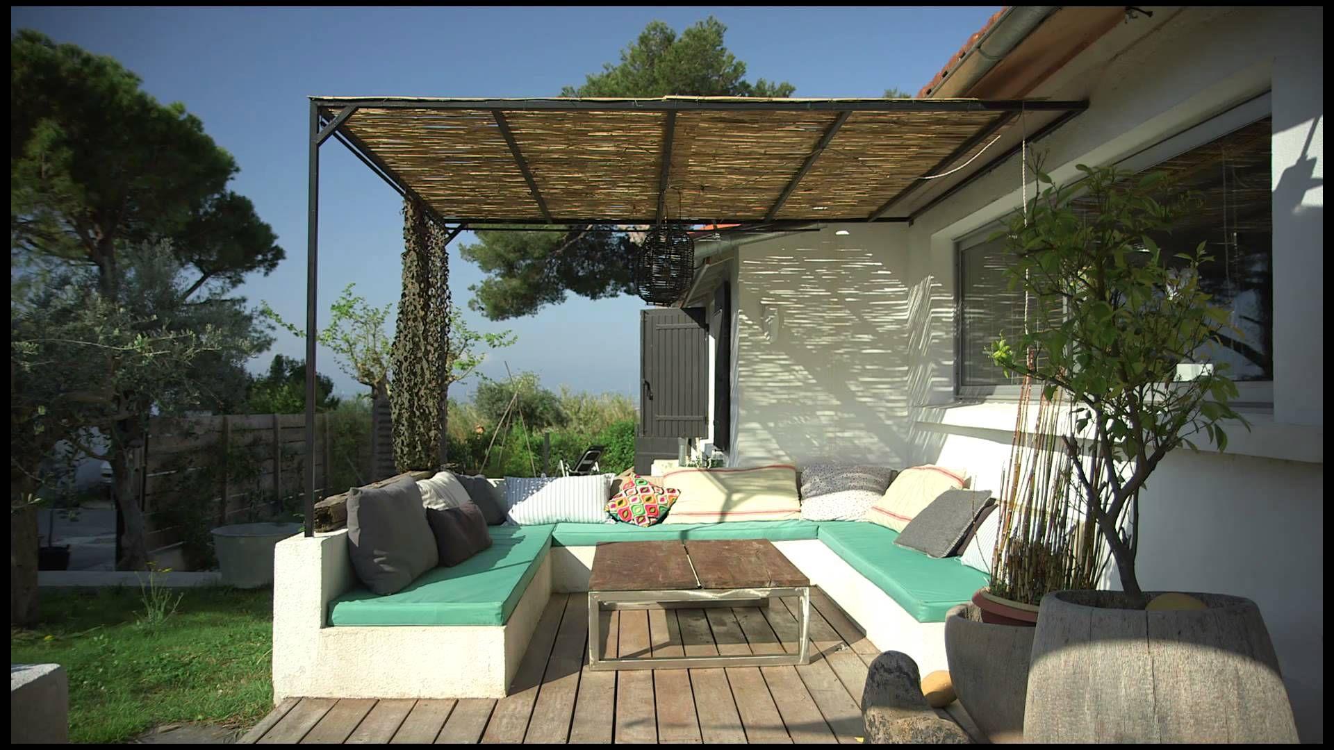 Salon de jardin en beton