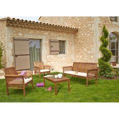 Salon de jardin bois carrefour market - Mailleraye.fr jardin