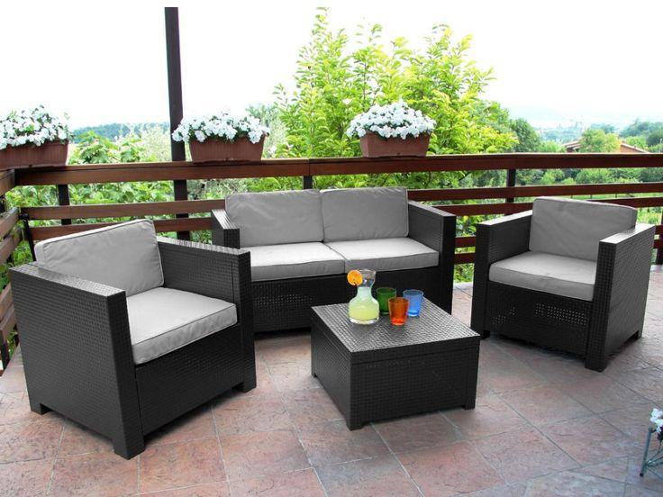 Salon de jardin 8 places castorama - Mailleraye.fr jardin