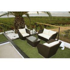 Petit salon de jardin design - Mailleraye.fr jardin