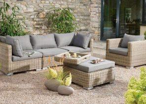 Salon de jardin aluminium et verre leclerc - Mailleraye.fr jardin