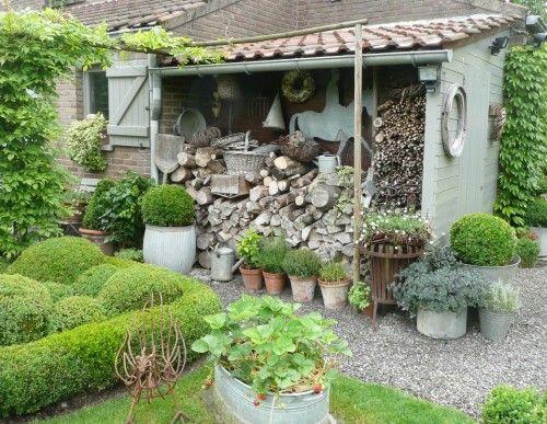 Cabane de jardin en anglais
