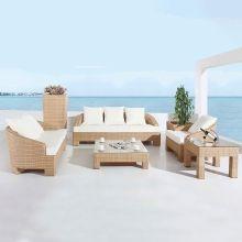 Salon de jardin blanche habitat