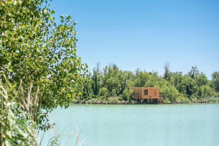 Cabane avignon lac