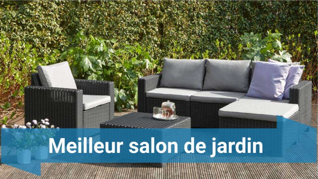 Salon de jardin qu'on peut laisser dehors