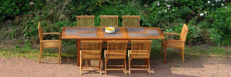 Construire un salon de jardin en bois de palette - passeur de plantes