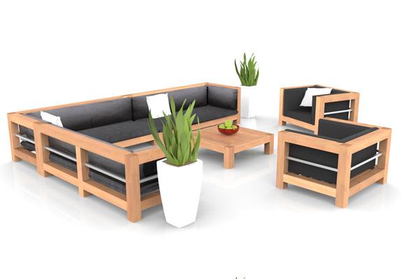 Salon de jardin alu haut de gamme - Mailleraye.fr jardin