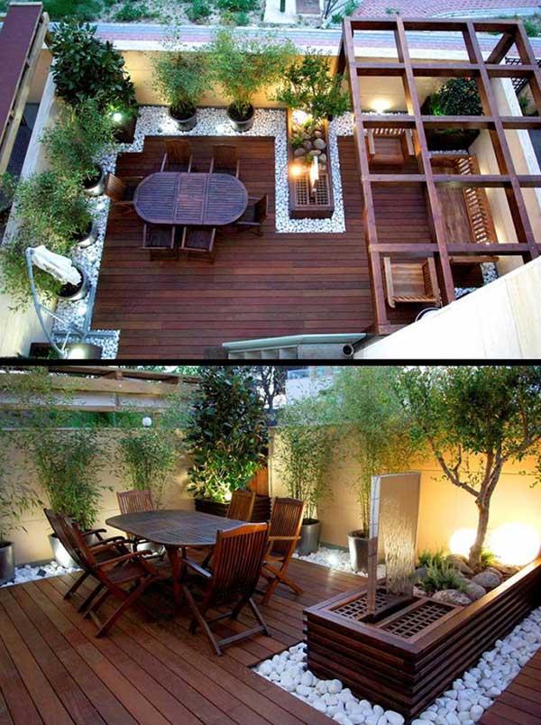 Salon terrasse exterieur