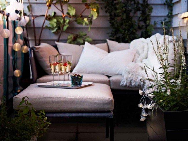 Mini salon de jardin pour balcon - Mailleraye.fr jardin
