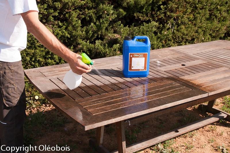 Renover salon de jardin en teck