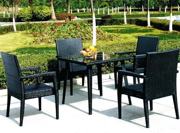 salon de jardin maui gris jardin. Black Bedroom Furniture Sets. Home Design Ideas