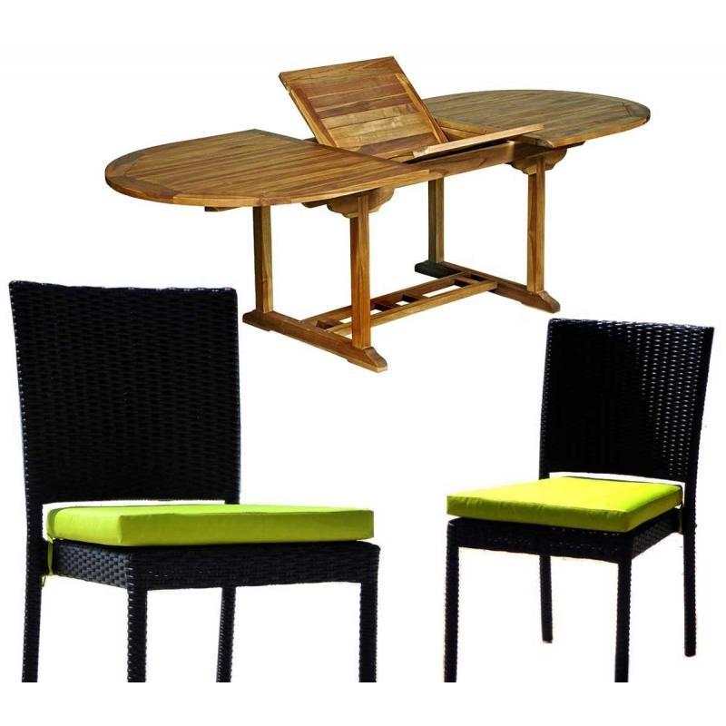 Salon de jardin yfone wood - Mailleraye.fr jardin