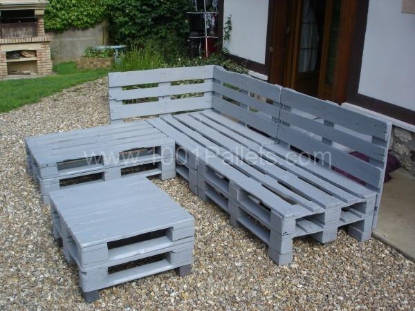 Fabriquer Meubles Jardin Avec Des Palettes Inspiration Tuto Salon Et ...