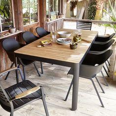 Salon de jardin en bois castorama