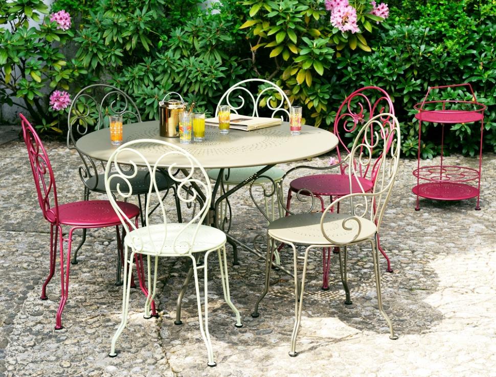 Salon de jardin montmartre en soldes - Mailleraye.fr jardin