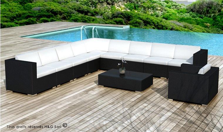 Salon d\'angle de jardin - Mailleraye.fr jardin