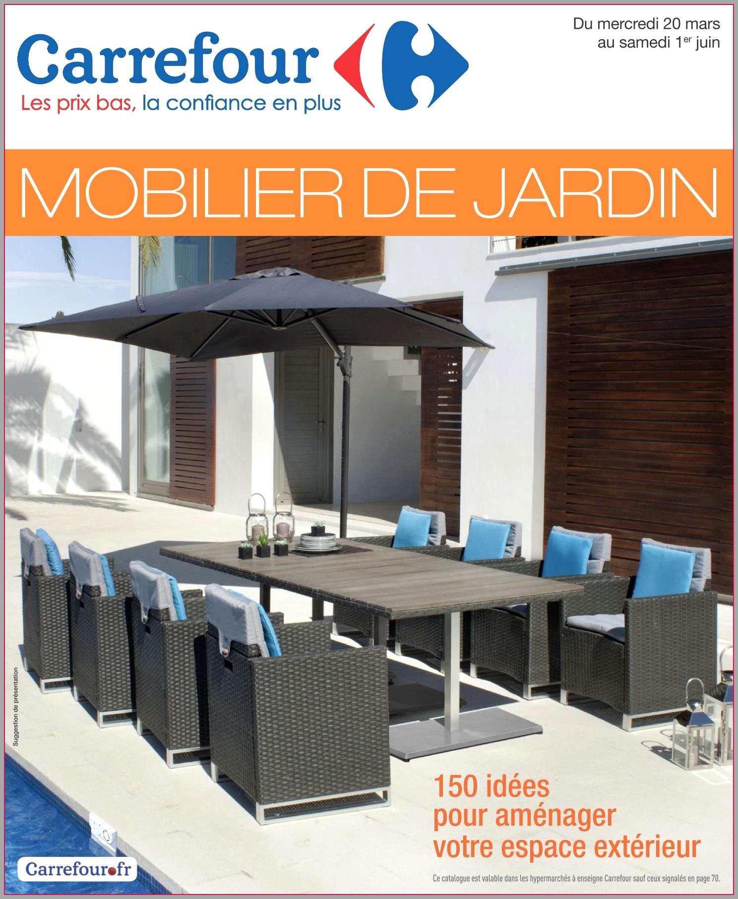 Salon de jardin chez carrefour market - Mailleraye.fr jardin