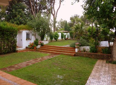 Salon jardin casa de campo