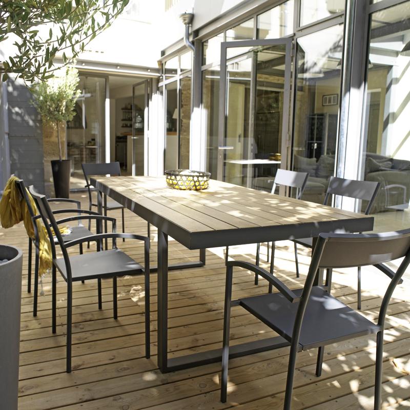 Salon de jardin taupe castorama - Mailleraye.fr jardin