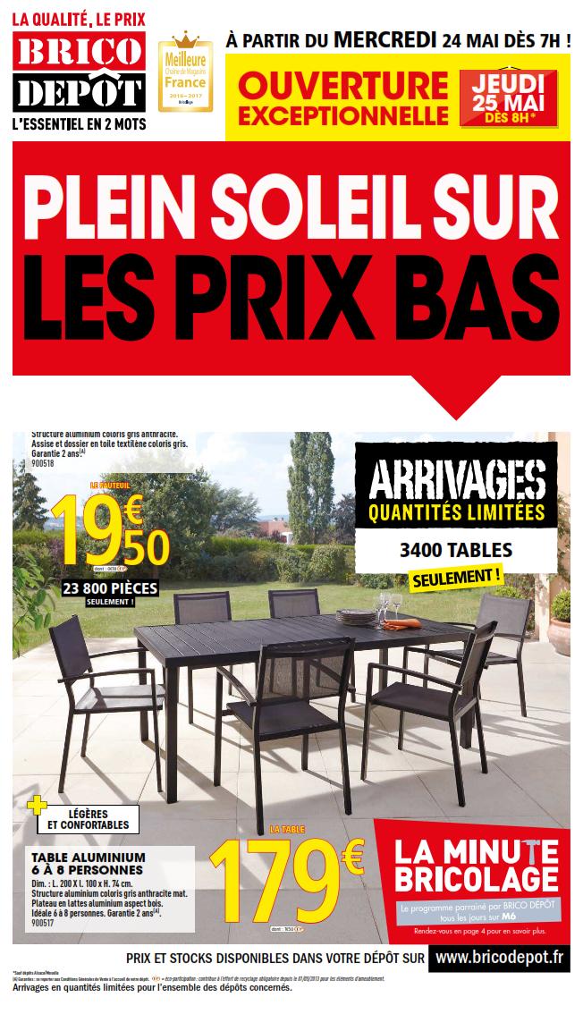 Salon de jardin brico depot maubeuge - Mailleraye.fr jardin