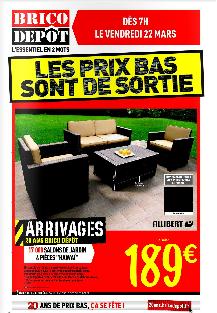 Promotion salon de jardin brico depot - Mailleraye.fr jardin