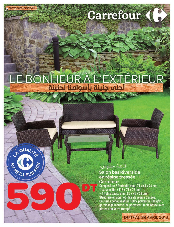 Salon de jardin rio carrefour - Mailleraye.fr jardin