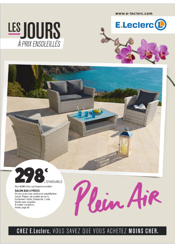 Salon De Jardin Leclerc Catalogue 2017