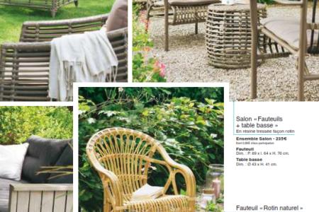 Salon de jardin rotin jardiland - Mailleraye.fr jardin