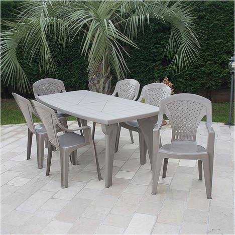 Table salon de jardin auchan - Mailleraye.fr jardin