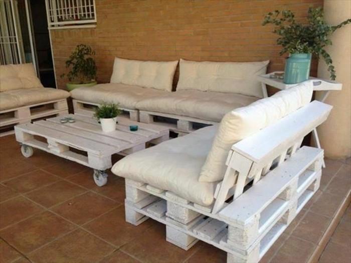 Fabriquer un salon de jardin en palette tuto