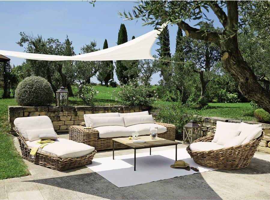 Best Salon De Jardin Osier Maison Du Monde Images - House ...