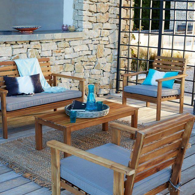Table salon de jardin la redoute